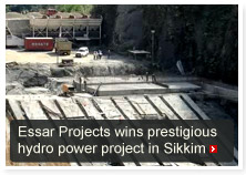 Essar Projects wins prestigious hydro power project in Sikkim