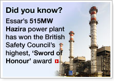 Hazira power plant