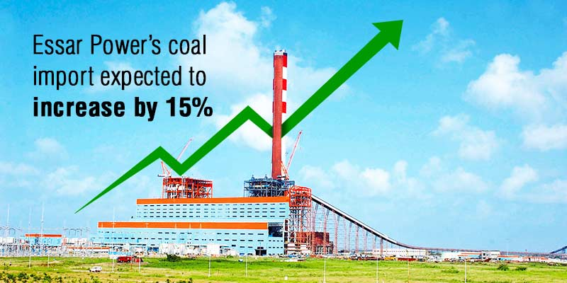 Essar thermal imports seen rising to 5.5 mt in FY 2016-2017